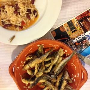 Szardinia ebéd