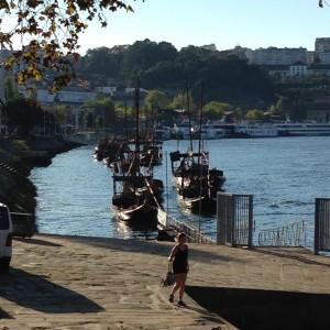 Portói szállító bárkák