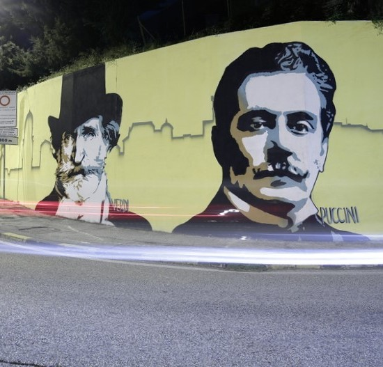 Macerata Opera wall